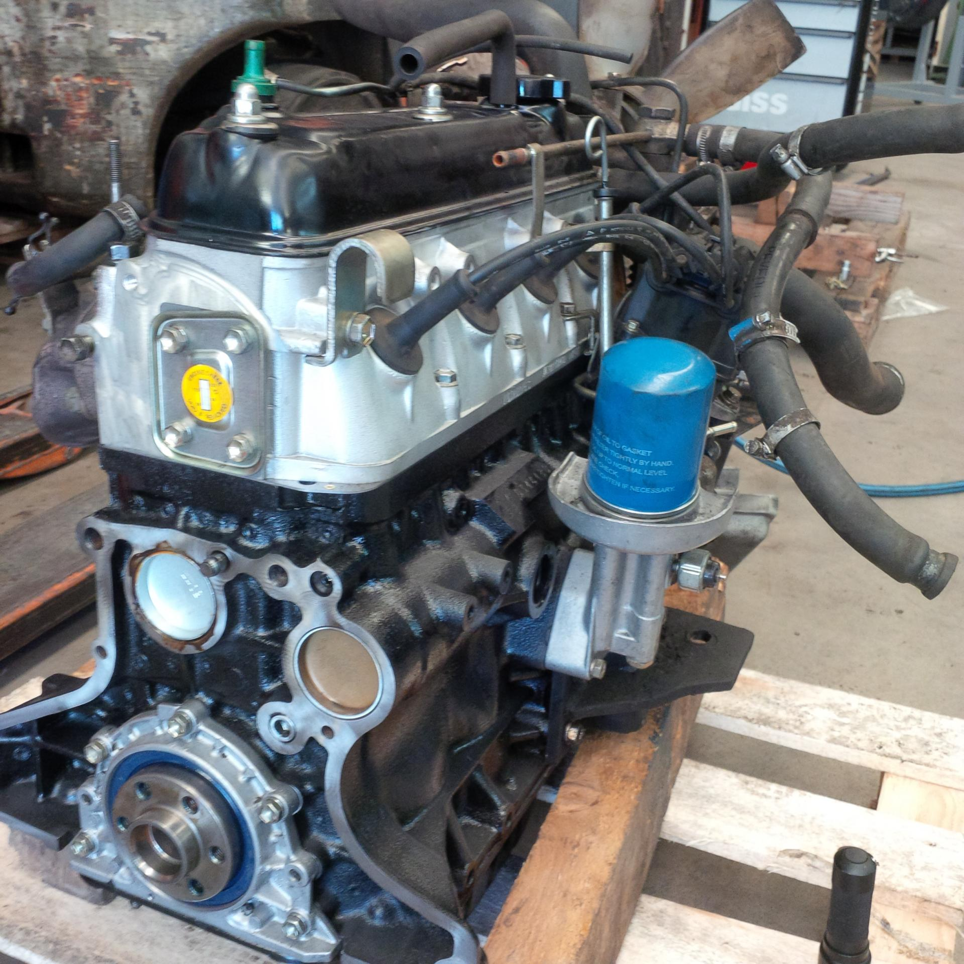 Remplacement d'un moteur thermique