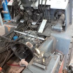 Echange standard d'un  moteur de chariot 3 tonnes